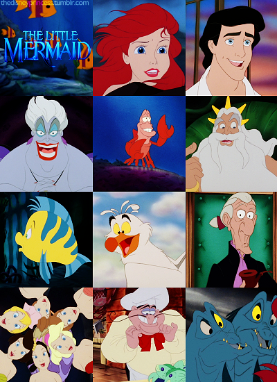Disney Couples images the little mermaid's cast wallpaper ...