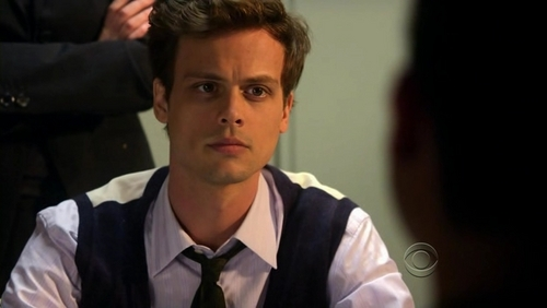 Dr. Spencer Reid wallpaper possibly containing a business suit called the soooo cute man