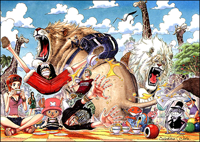 One Piece achtergrond entitled top, boven selling manga in japan for the first half of 2010