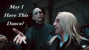 voldemort and lucius malfoy