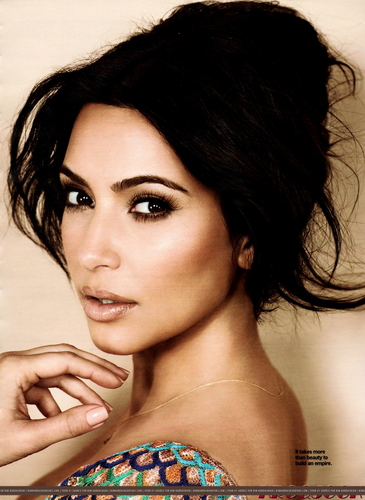 Kim Kardashian wallpaper containing skin and a portrait entitled 'Cosmopolitan' Magazine August 2011.
