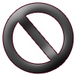 'No' icon - picks icon