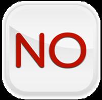 'No' icona