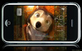 """Talk with Humphrey"" the iPhone application! XD - alpha-and-omega wallpaper"