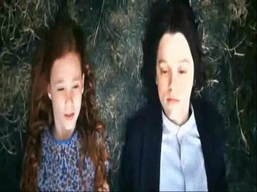 Young Severus and Lily