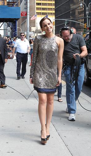 2011: Late دکھائیں With David Letterman HQ