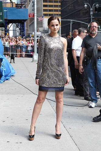 2011: Late tunjuk With David Letterman HQ