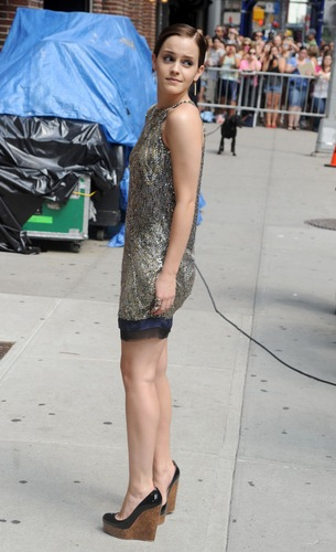 2011: Late tampil With David Letterman HQ