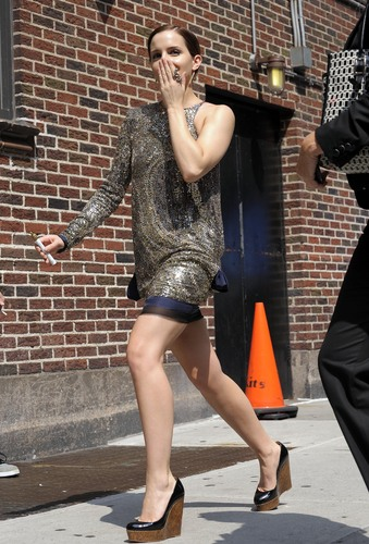 2011: Late 显示 With David Letterman HQ