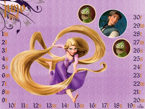disney princesas wallpaper probably containing a portrait called 2011-calendar
