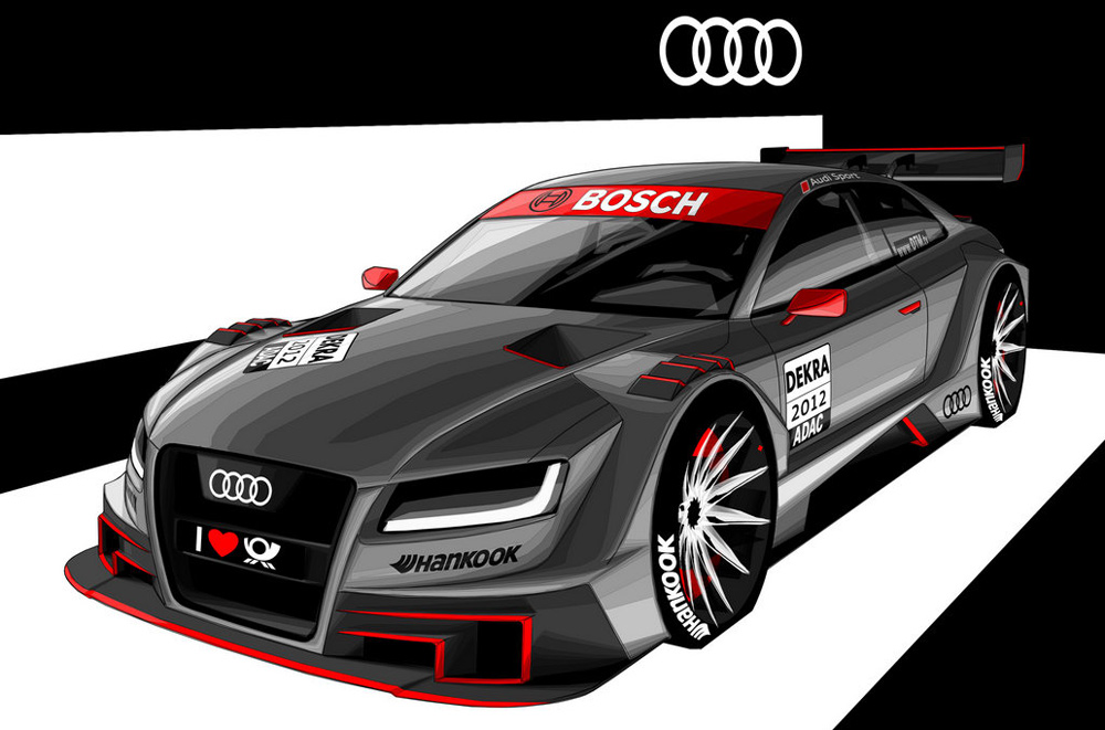 Audi Images AUDI A DTM CONCEPT HD Wallpaper And Background Photos - All the audi cars