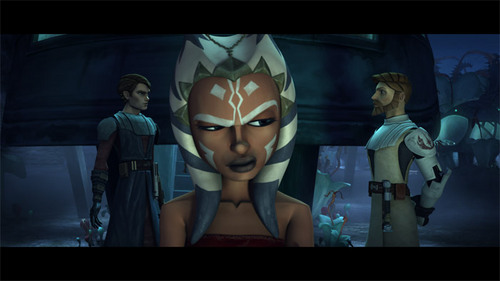 Ahsoka,Anakin,and Obi-wan
