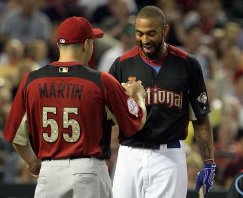 All Star Game 2011; Russell Martin& Matt Kemp