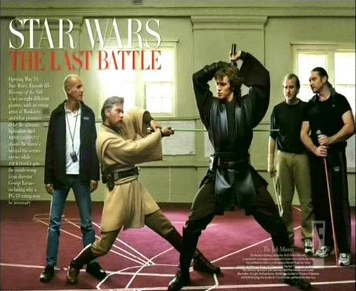 Anakin and Obi wan