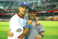 Andre Ethier NL, Russell Martin AL - los-angeles-dodgers photo