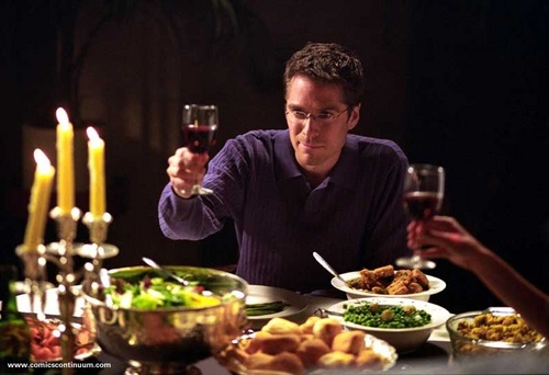 Angel wallpaper containing a holiday dinner entitled Angel Season 4