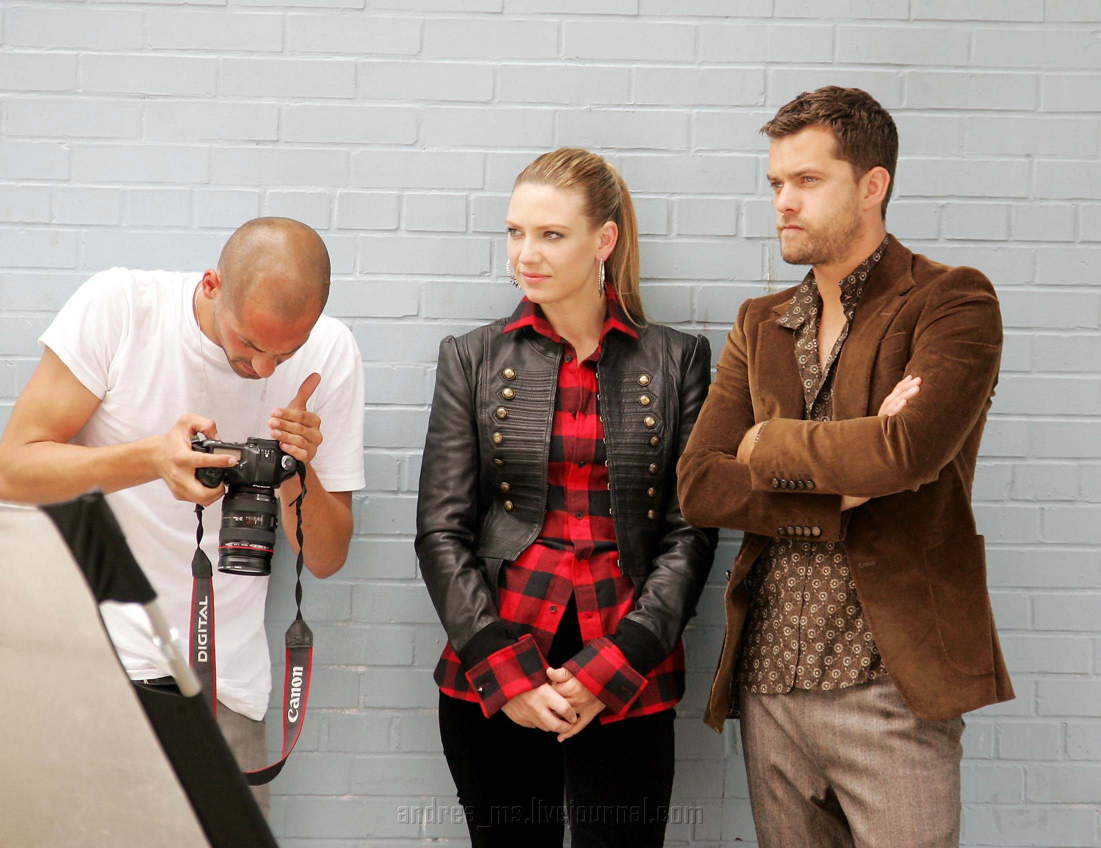 Anna Torv and Joshua Jackson Nylon photoshoot- 2008