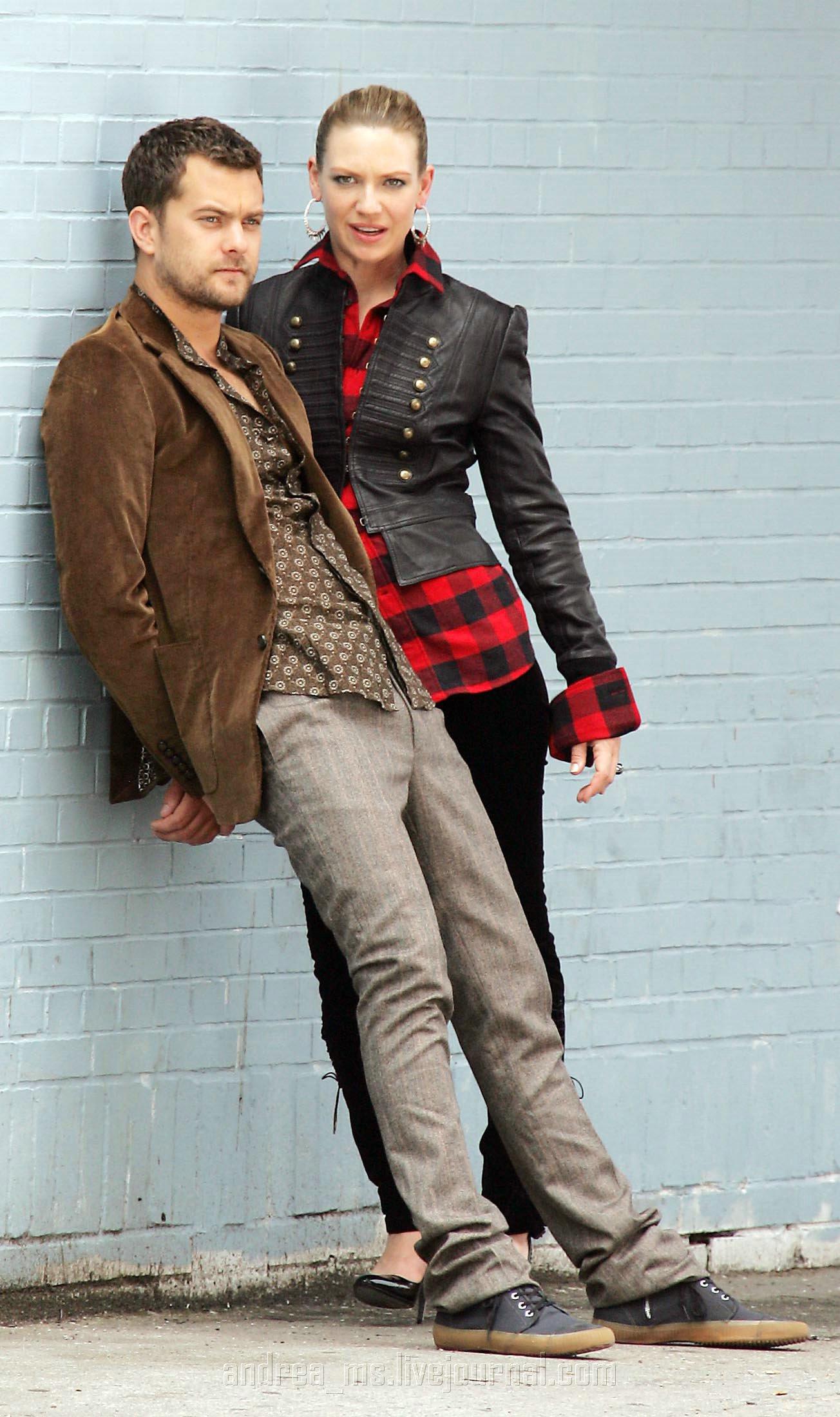 Anna Torv and Joshua Jackson Nylon photoshoot- 2008