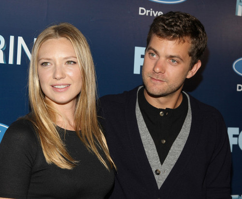 Anna Torv and Joshua Jackson achtergrond containing a portrait entitled Anna Torv and Joshua Jackson