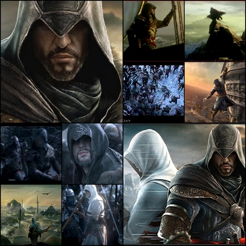 Assassin's Creed wallpaper containing a hood and a wimple entitled Assassin's Creed Revelations