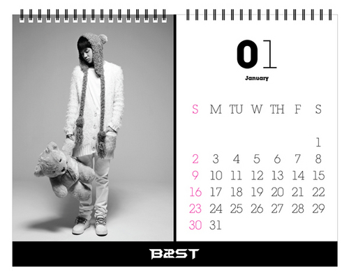 B2ST 2011 callendar teaser