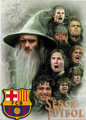 Barca in Lord of the rings - fc-barcelona fan art