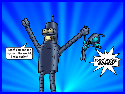 Bender AND GIR!