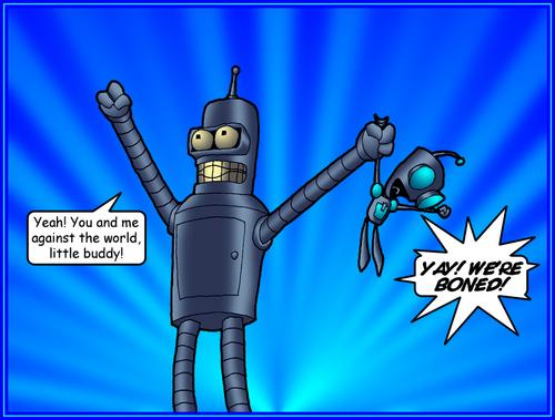 Bender AND GIR!