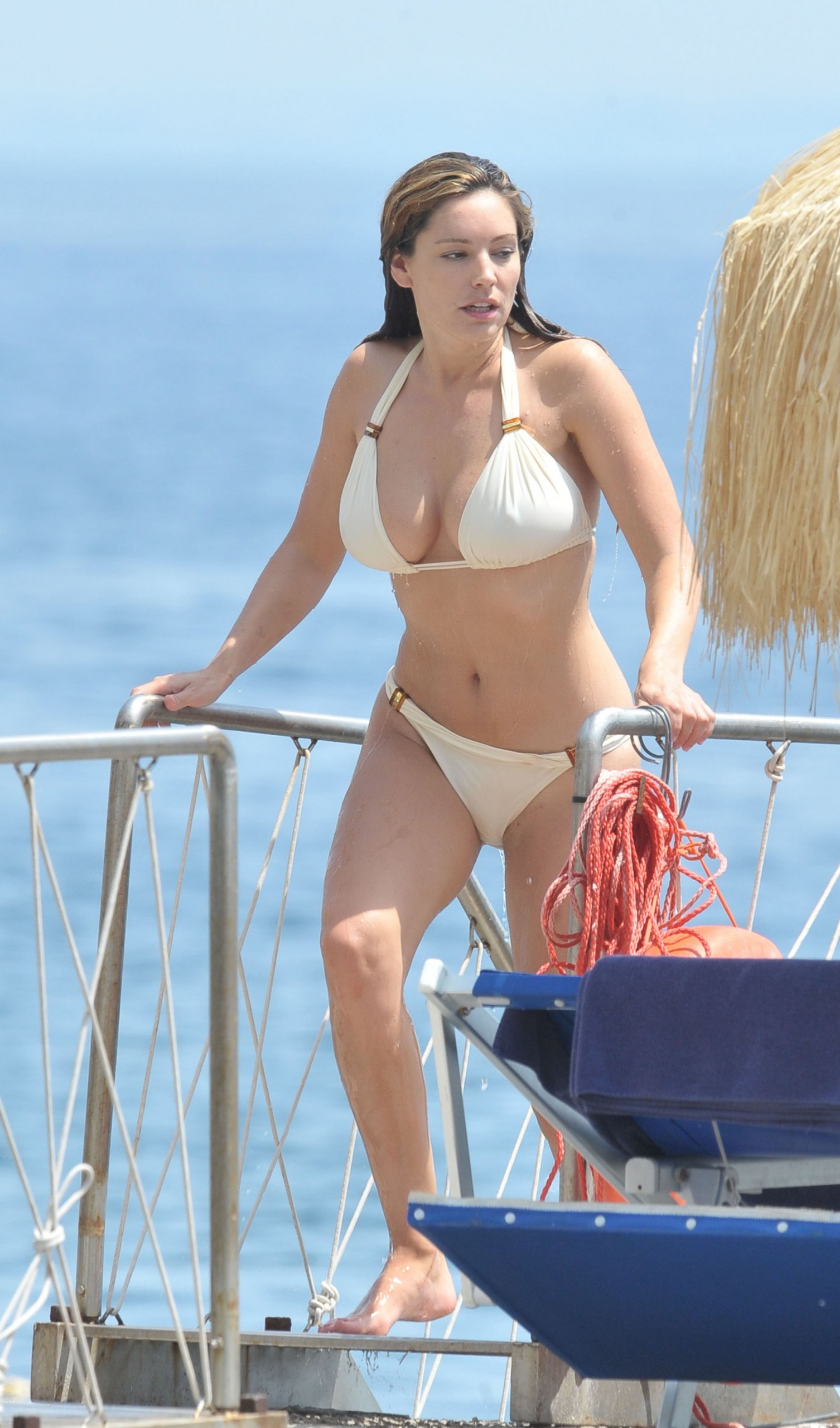 Consider, that Kelly brook nude bikini have not