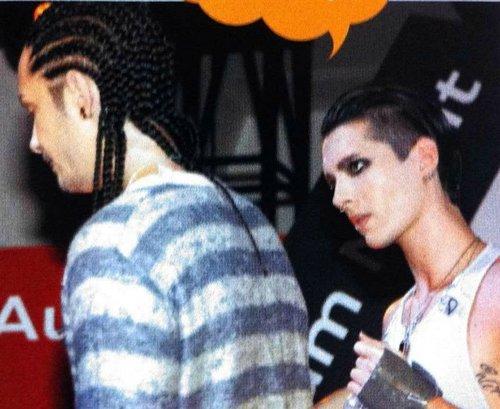 Tom & Bill Kaulitz fond d'écran titled Bill Tom