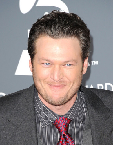 Blake & Miranda - The 53rd Annual GRAMMY Awards - Arrivals