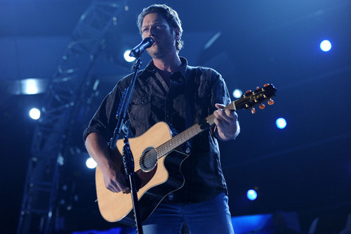 Blake Shelton - 46th Annual Academy Of Country muziek Awards - Rehearsals