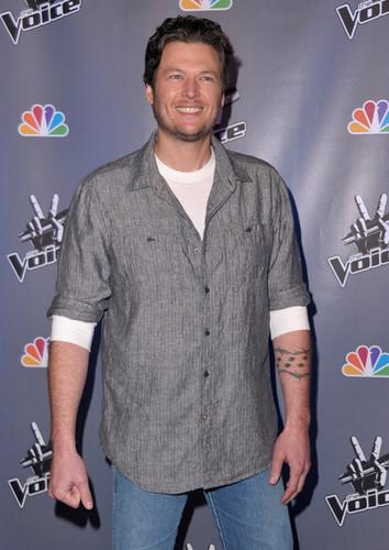 "Blake Shelton - NBC's ""The Voice"" Press Conference"