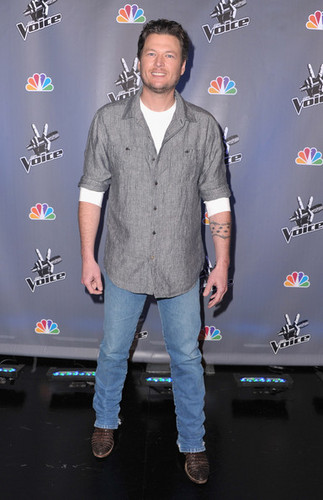 "Blake Shelton - NBC's ""The Voice"" Press Conference"
