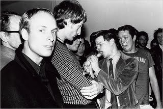 Brian Eno with James Chance, 1978