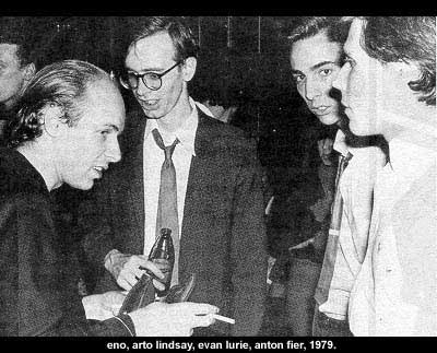 Brian Eno images Brian Eno, Arto indsay, Evan Lurie, 1978-79 wallpaper and background photos
