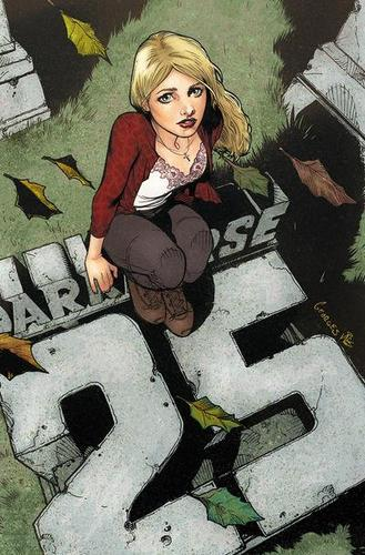 Buffy Season 9 Vol 1 - Georges Jeanty 25 Anniversary Variant Cover