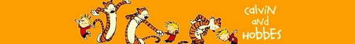 Calvin &amp; Hobbes Banner - calvin-and-hobbes Fan Art