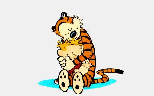 Calvin & Hobbes wallpaper titled Calvin & Hobbes