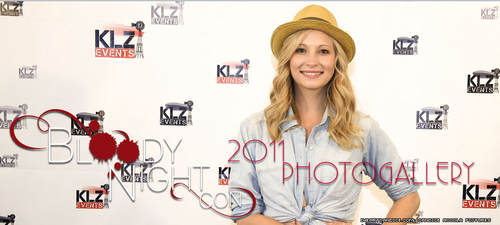 Candice on the Bloody Night Con photogallery banner!