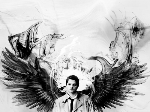 Castiel wallpaper possibly with a bouquet called Castiel