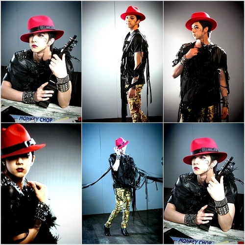 Cheondung during MBLAQ Mona Lisa album জ্যাকেট photoshoot!