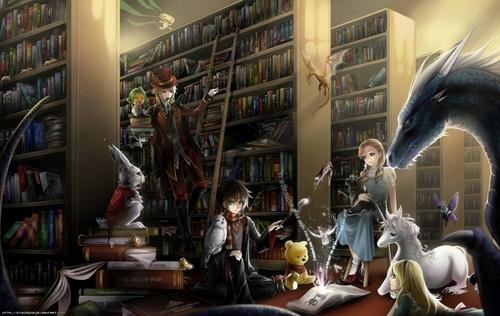 Children's 도서관, 라이브러리