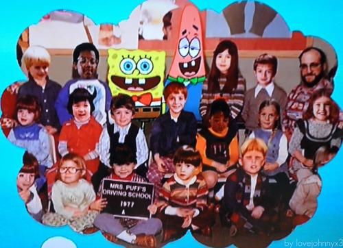 Classphoto of Spongebob & Patrick