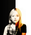 D F  - dakota-fanning fan art