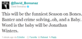 David Boreanaz tweets about new season