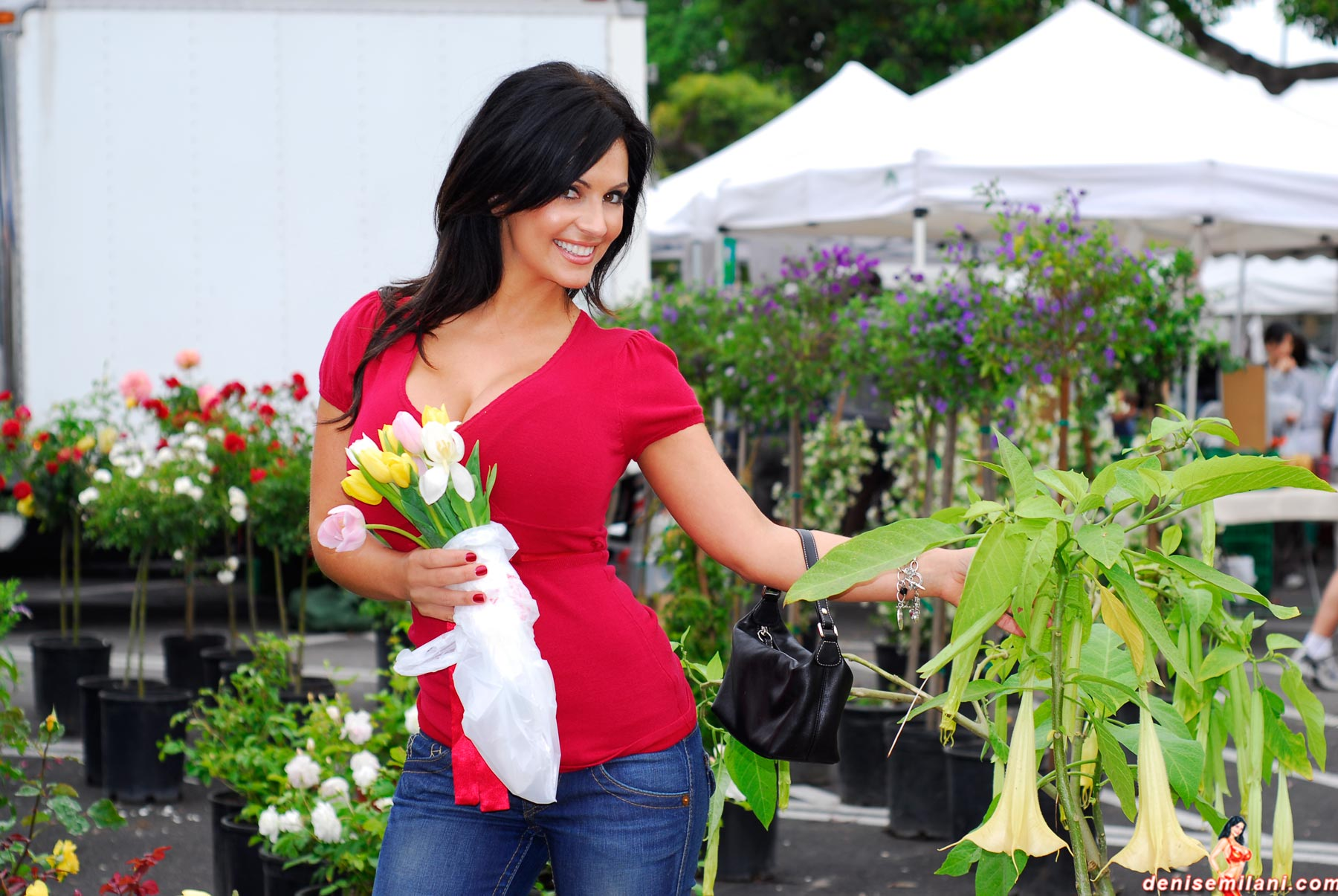 Denise Milani | At The Market