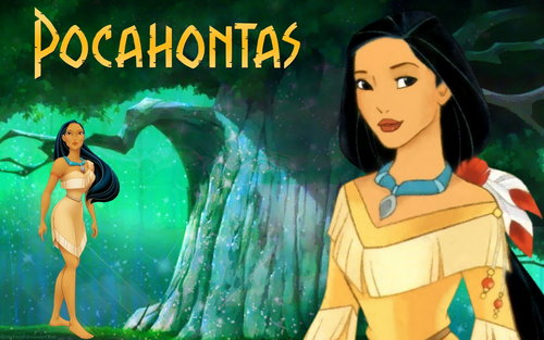 डिज़्नी Princess Pocahontas