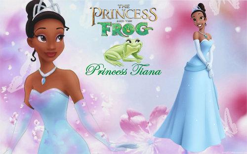 디즈니 Princess Tiana