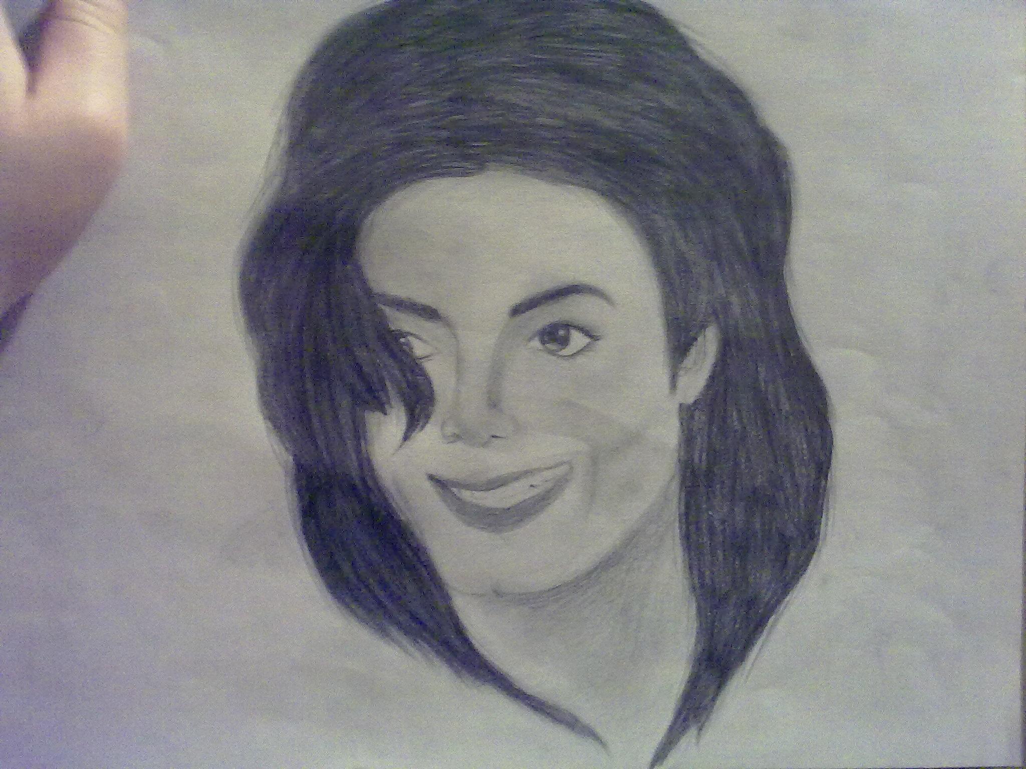 Michael Jackson Drawing Art Jackson Drawing of Michael